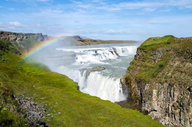 Gullfoss Wasserfall auf Island