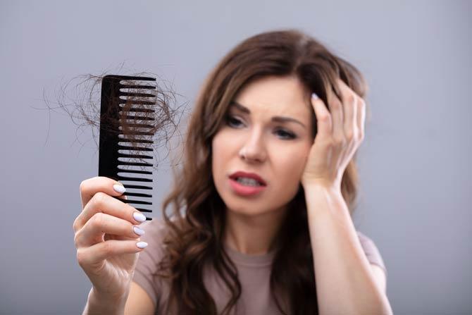 Haarverlust nach Stress