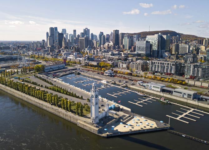 Hafen Montreal