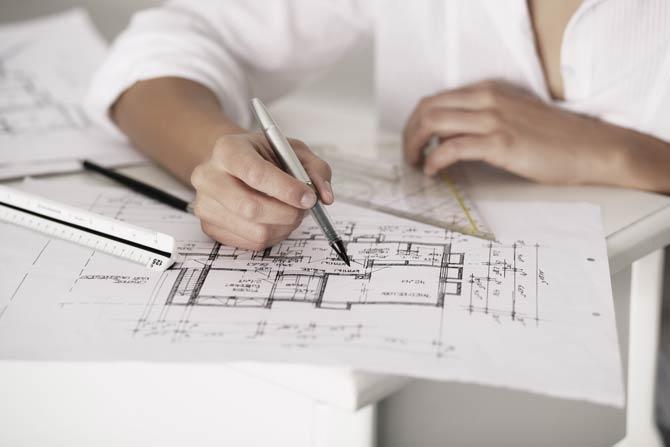 Planungsprozess beim Hausbau