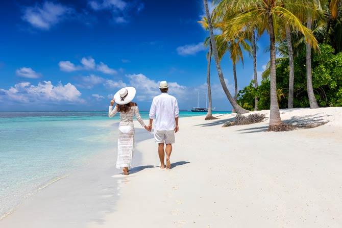 Hohe Scheidungsraten nach Reisen in tropische Gefilde