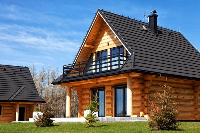 Holzkonstruktionen können bis zu 100-200 Jahre verwendet werden