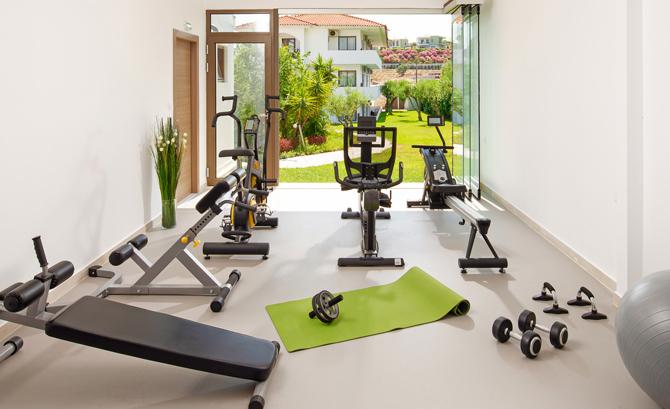 Home-Gym - Platzbedarf