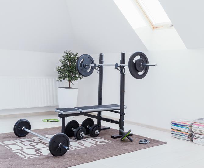 Home Gym im spartanischen Stil