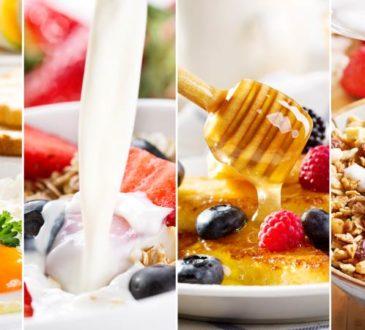 Ideen und Tipps für ein gesundes Frühstück