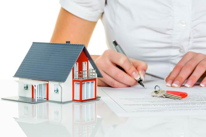 Immobilienmarkt - Nachfrage nach Hypothekenkrediten erst einmal deutlich reduziert
