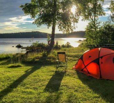Jedermannsrecht in Schweden - Urlaub unter freiem Himmel