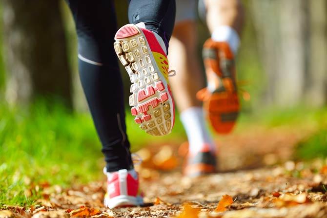 Jogging ist günstige Sportart