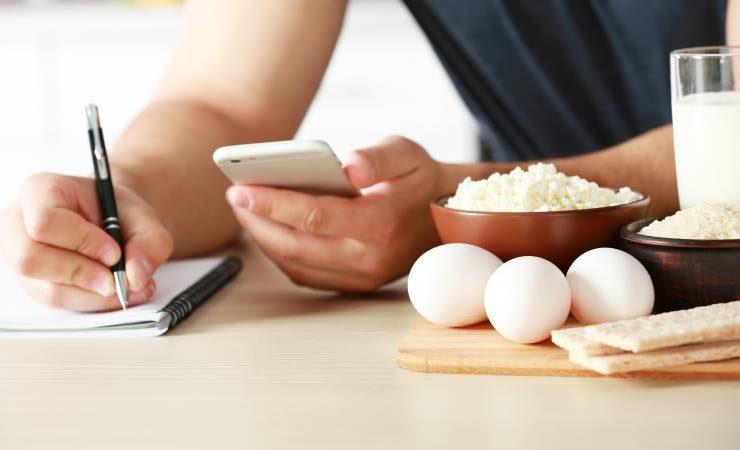 Kalorien Zählen zum Abnehmen