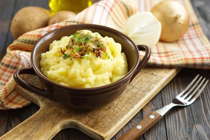 Kartoffelbrei - mehlige Kartoffeln verwenden
