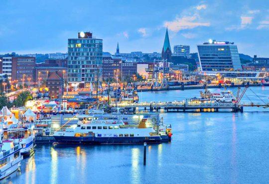Kiel - eine maritimen Hafenstadt
