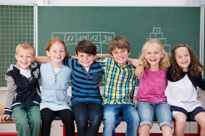 Kinder in einer Ganztagsschule