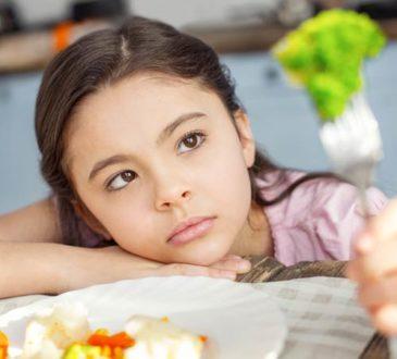 Kinder mögen keinen Brokkoli