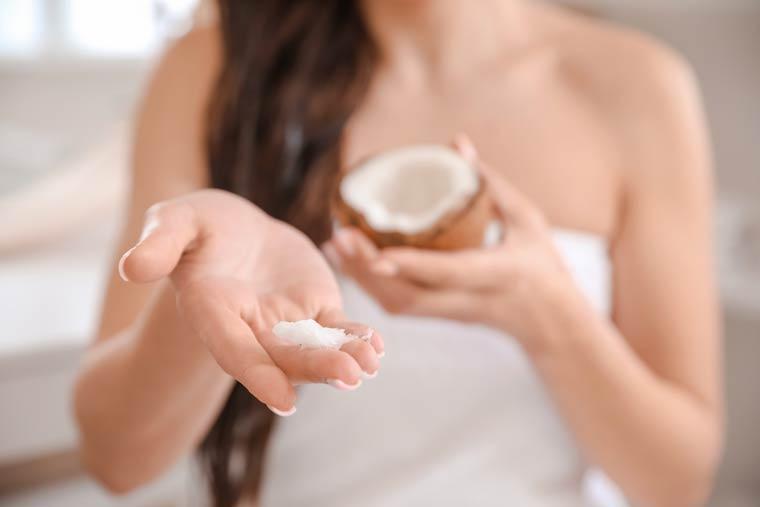 Kokosöl - Haarpflege