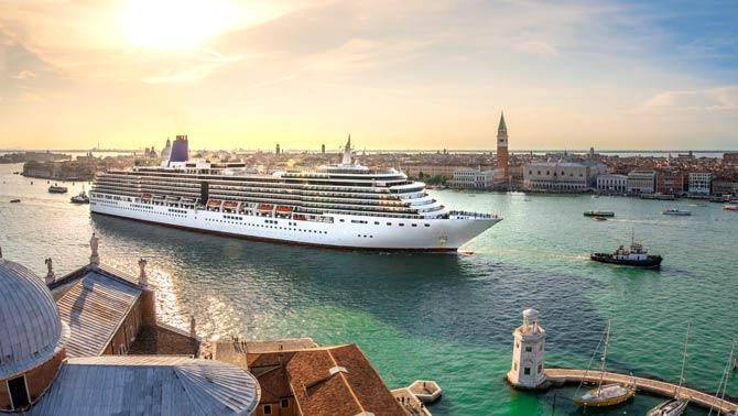 Kreuzfahrt belastet Klimabilanz