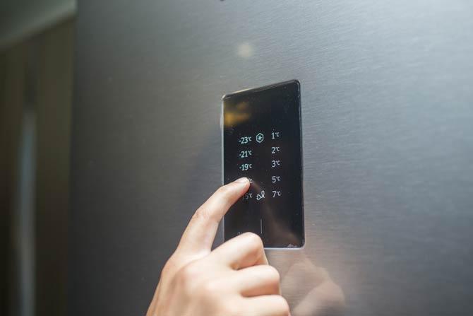 Kühlschranktemperatur einstellen