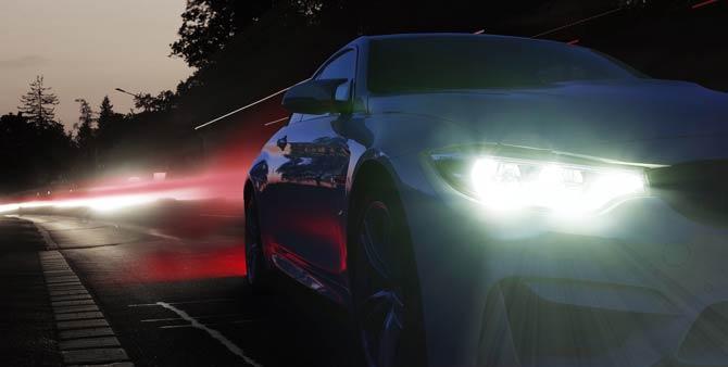 LED Scheinwerfer - Blitzgefahr