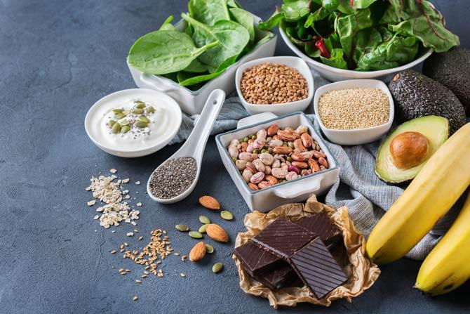 Lebensmittel mit Magnesium