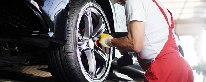 Leasing - Reifen meist selber wechseln