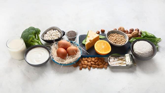 Lebensmittel mit Kalzium
