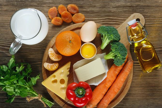 Lebensmittel regen den Stoffwechsel an