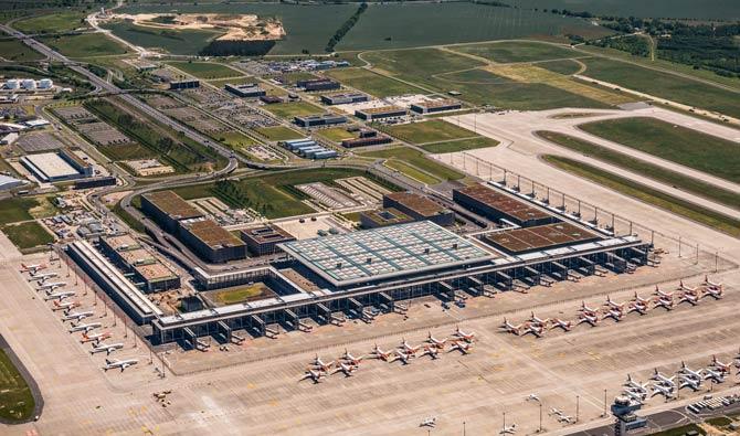 Luftaufnahme Flughafen Berlin-Brandenburg