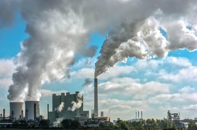 Luftverschmutzungen