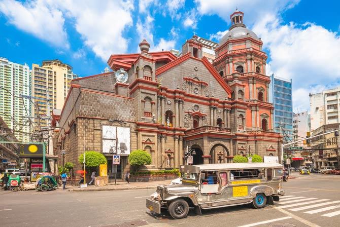 Manila - Binondo-Kirche