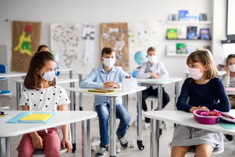 Maskenpflicht im Klassenzimmer