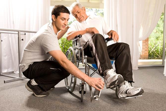 Meisten Behinderungen werden im Laufe des Lebens erworben