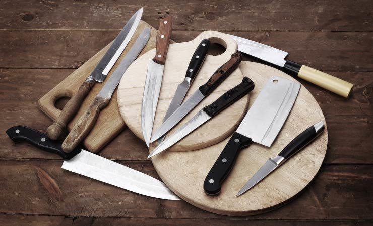 Messerarten in der Übersicht