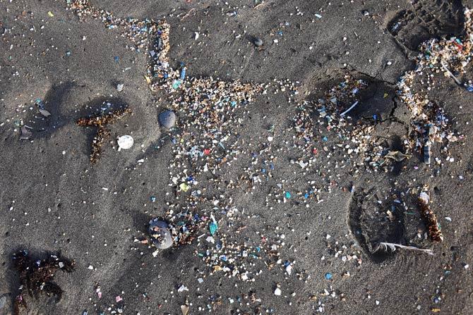 Mikroplastik im Ozean