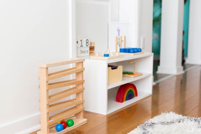 Möbel nach dem Montessori-Konzept