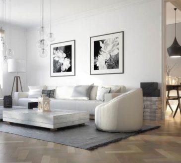 Möbel positionieren