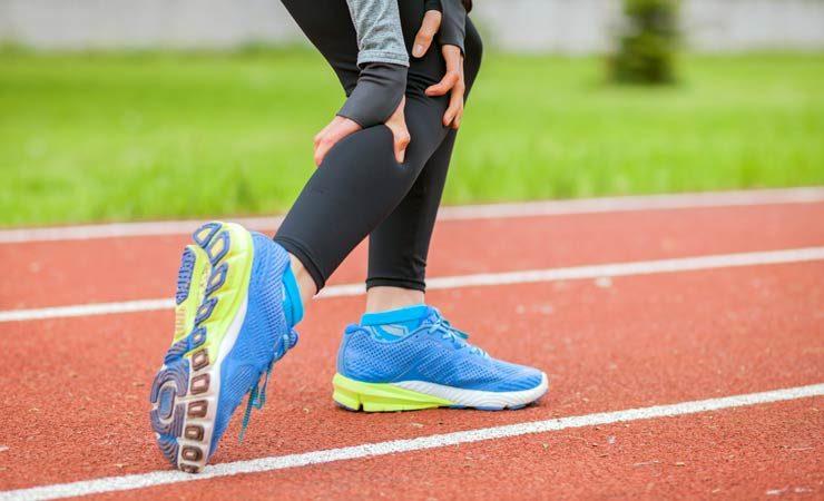 Muskelkrämpfe beim Laufen