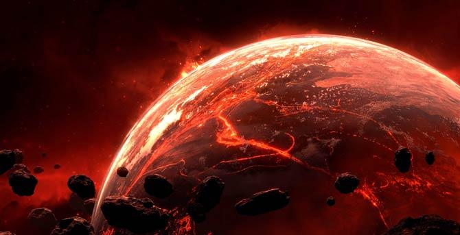 Oberfläche der Venus