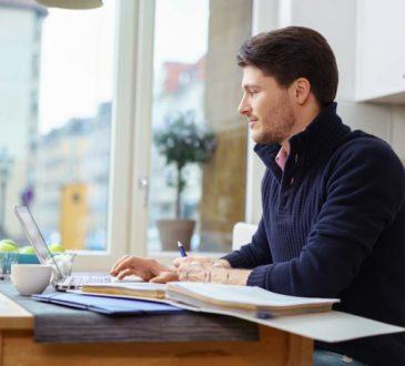 Online Seminar-bequem von Zuhause