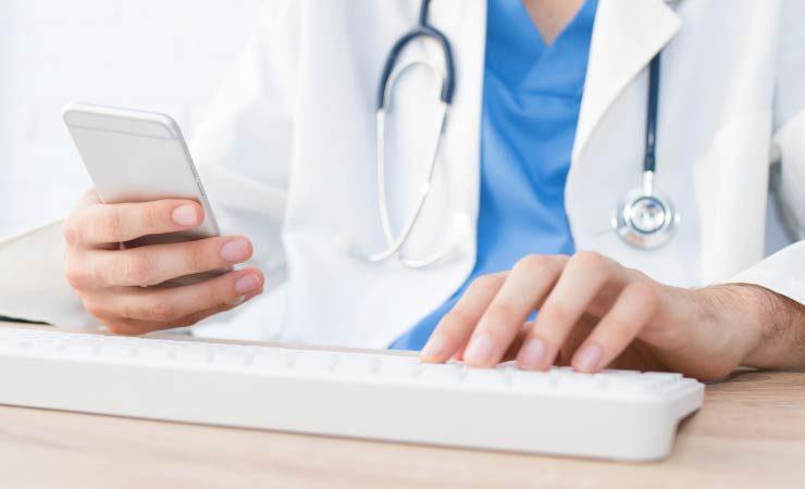 Online Terminvereinbarungen beim Arzt
