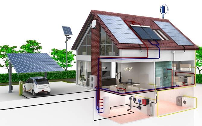 Photovoltaik Illustration