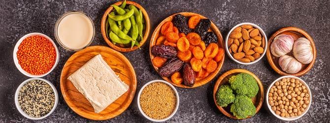 Phytoöstrogene Lebensmittel