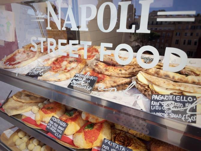 Pizza aus Neapel