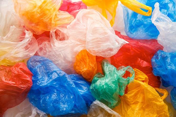 Plastikbeutel