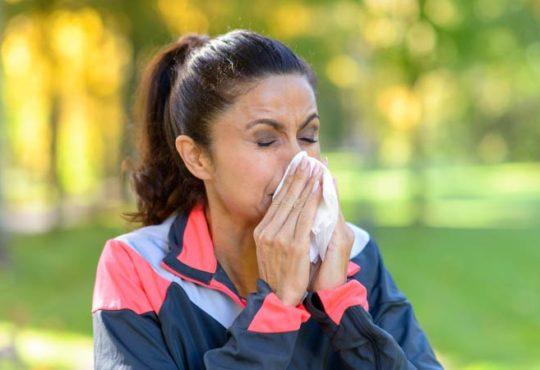 Pollenallergie: Worauf beim Sport achten