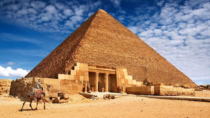 Pyramiden nicht von Sklaven gebaut