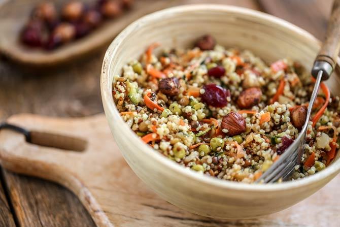 Quinoasalat - Gesunde und schnelle Gerichte