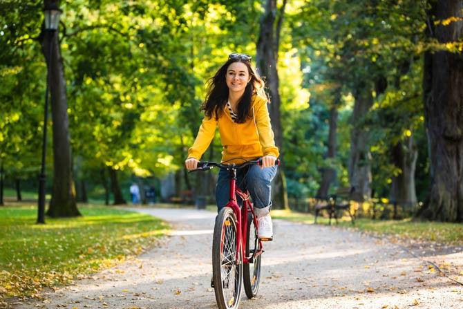Radfahren nach Schwangerschaft
