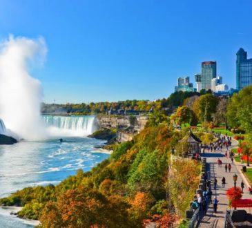 Region Niagara in Ontario im Herbst