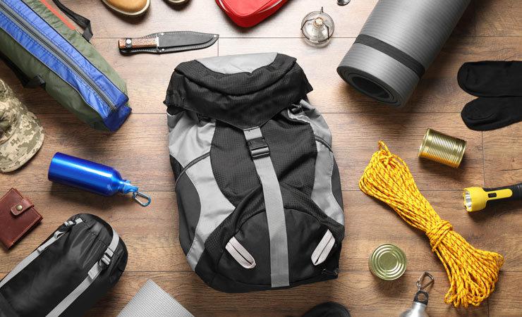 Die richtige Ausrüstung für den Campingurlaub