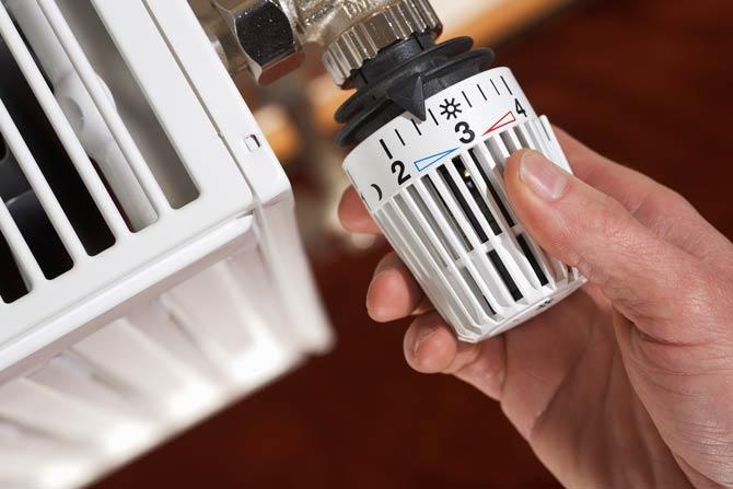 Die richtige Thermostat-Stufe wählen