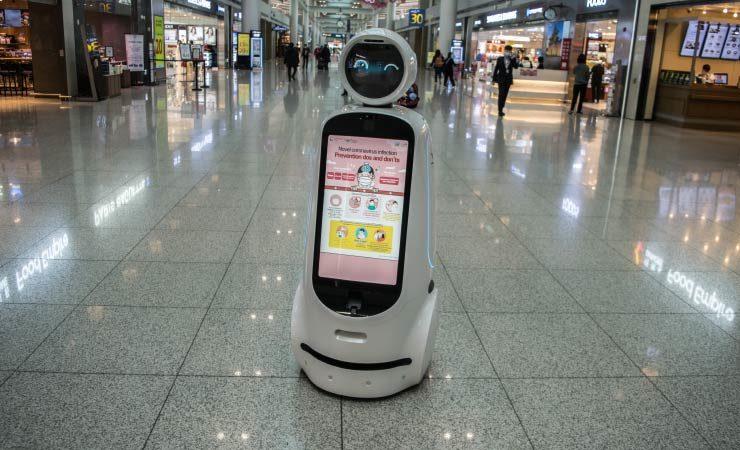 So können Roboter bei Pandemien helfen